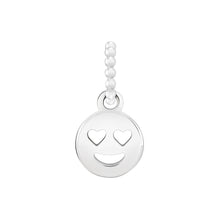 Load image into Gallery viewer, Petite Emoticon Smiley Face Charm - 2010-3700