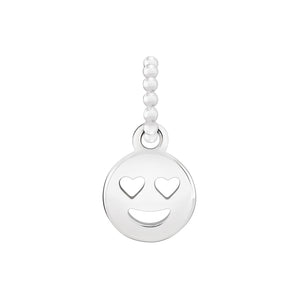 Petite Emoticon Smiley Face Charm - 2010-3700
