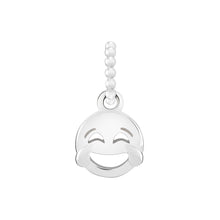 Load image into Gallery viewer, Petite Emoticon Crying From Laughter Charm - 2010-3714