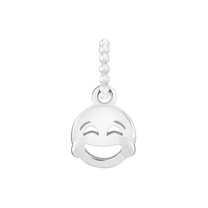 Petite Emoticon Crying From Laughter Charm - 2010-3714