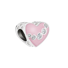 Load image into Gallery viewer, Jeweled Swag Heart - 2025-2422
