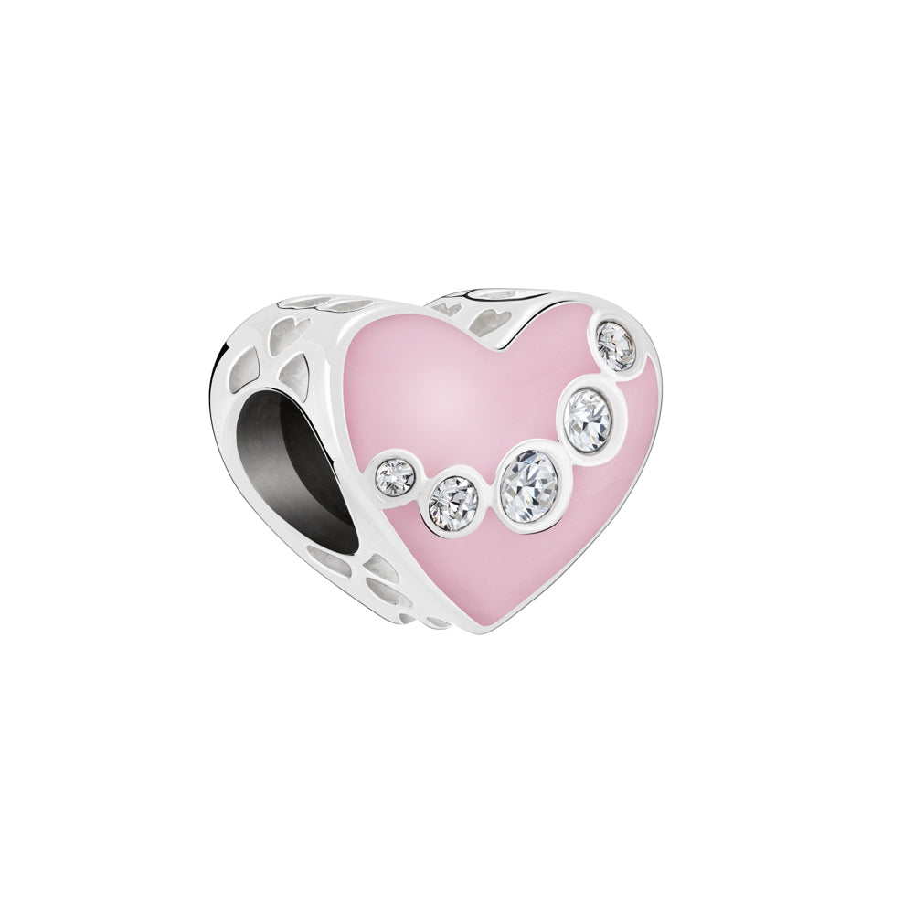 Jeweled Swag Heart - 2025-2422