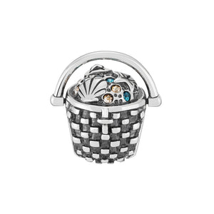 Seashell Basket Charm - 2025-2452