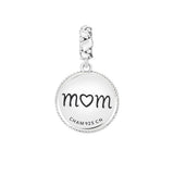Antique Swirl Mom Charm - 2025-2464