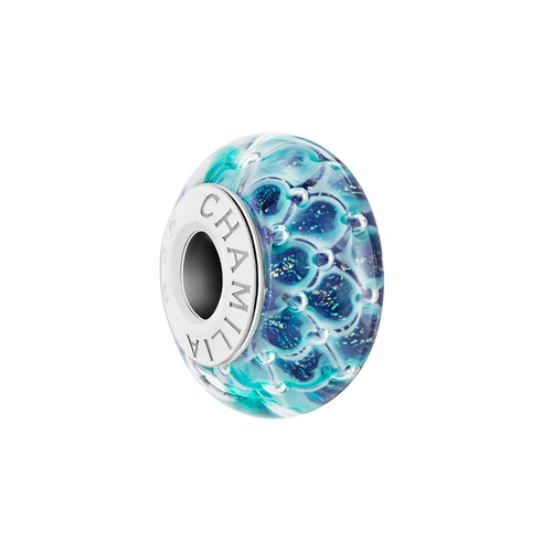Shimmering Scales Murano Charm - 2110-1301