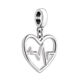 Give Care (Heartbeat) Charm - 2010-3461