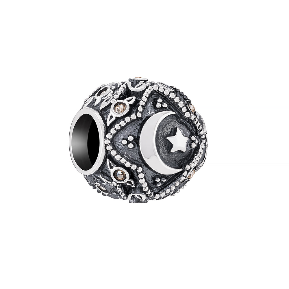 Spiritual Totem Crescent Moon and Stars - 2025-2308