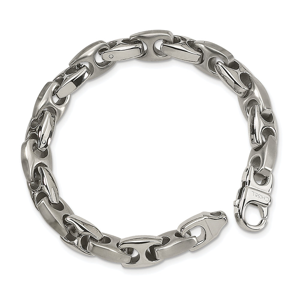Stainless Steel Brushed & Polished Bracelet