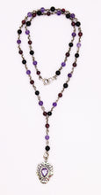 "Load image into Gallery viewer, ""Y"" Style Gemstone Necklace"
