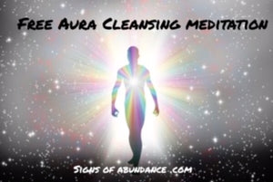 Free aura cleansing meditation to cleanse auric field guided meditation by Tara J Clarke