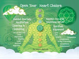 Heart Chakra Balancing Session for bringing more love into life, depression sadness loneliness