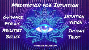 Meditation for Intuition by Tara J Clarke - Learn how to meditate for building trust belief and confidence in your intuitive messages received from your higher self and guides