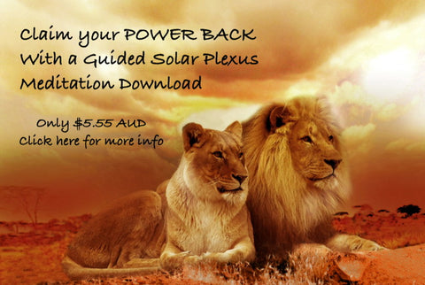 Solar Plexus Meditation Download Hypnosis Claim your power back Tara. J. Clarke