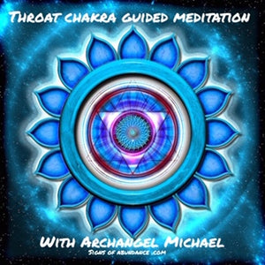 Guided Meditation for the Throat Chakra to speak your truth power confidence Archangel Michael