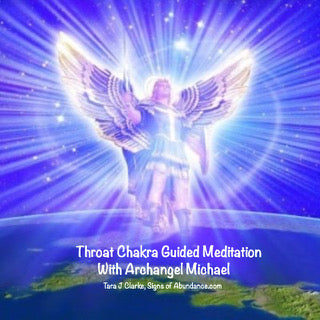 Throat Chakra Guided Meditation with Archangel Michael to speak your truth by Tara J Clarke
