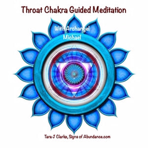 Throat Chakra Guided Meditation with Archangel Michael
