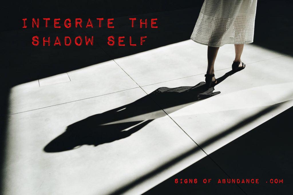 Integrate the shadow self integration let go of the past