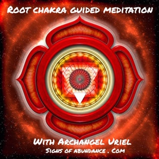 Root Chakra Guided Meditation with Archangel Uriel Kundalini base chakra energy centre