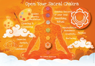 sacral chakra open akashic records reading financial confidence manifestation creation passion