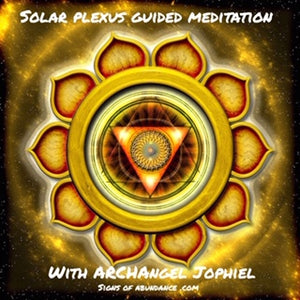 Solar Plexus Solar Plexus Archangel Jophiel Chakra Guided Meditation power confidence meditate self