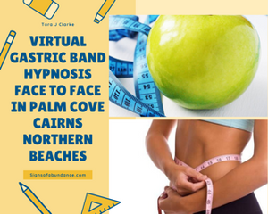 Virtual Gastric Band Hypnosis to lose weight in Cairns for tiny tummy small portions cravings
