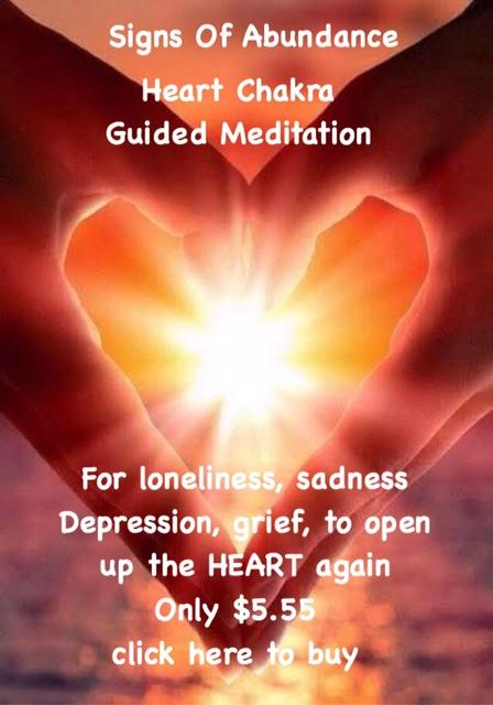 Heart Chakra Guided Meditation for grief loneliness and sadness