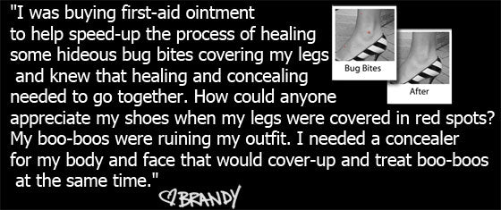 About Boo-Boo Cover-Up