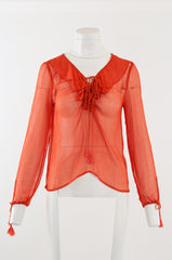 Artisan Blouse - Jade and Camil