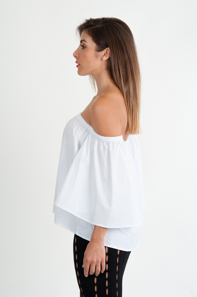 Ary Off Shoulder Top - Jade and Camil