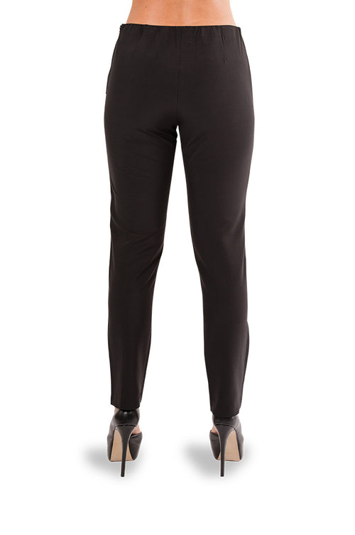 Soft Noir Pants - Jade and Camil