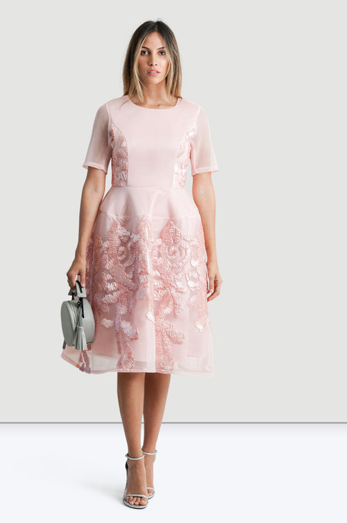 Cotton Candy Dress - Jade and Camil