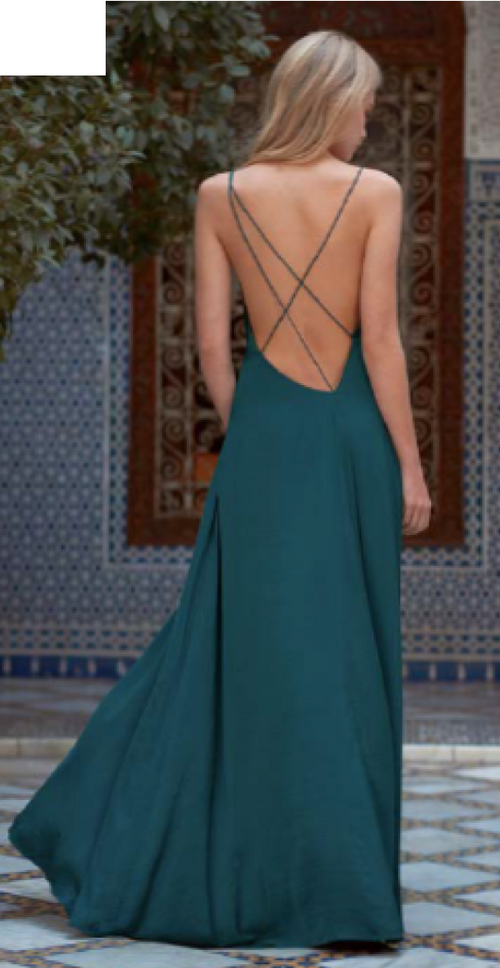 Imperial Maxi Dress - Jade and Camil