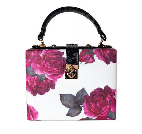 White Rose Purse - Jade and Camil