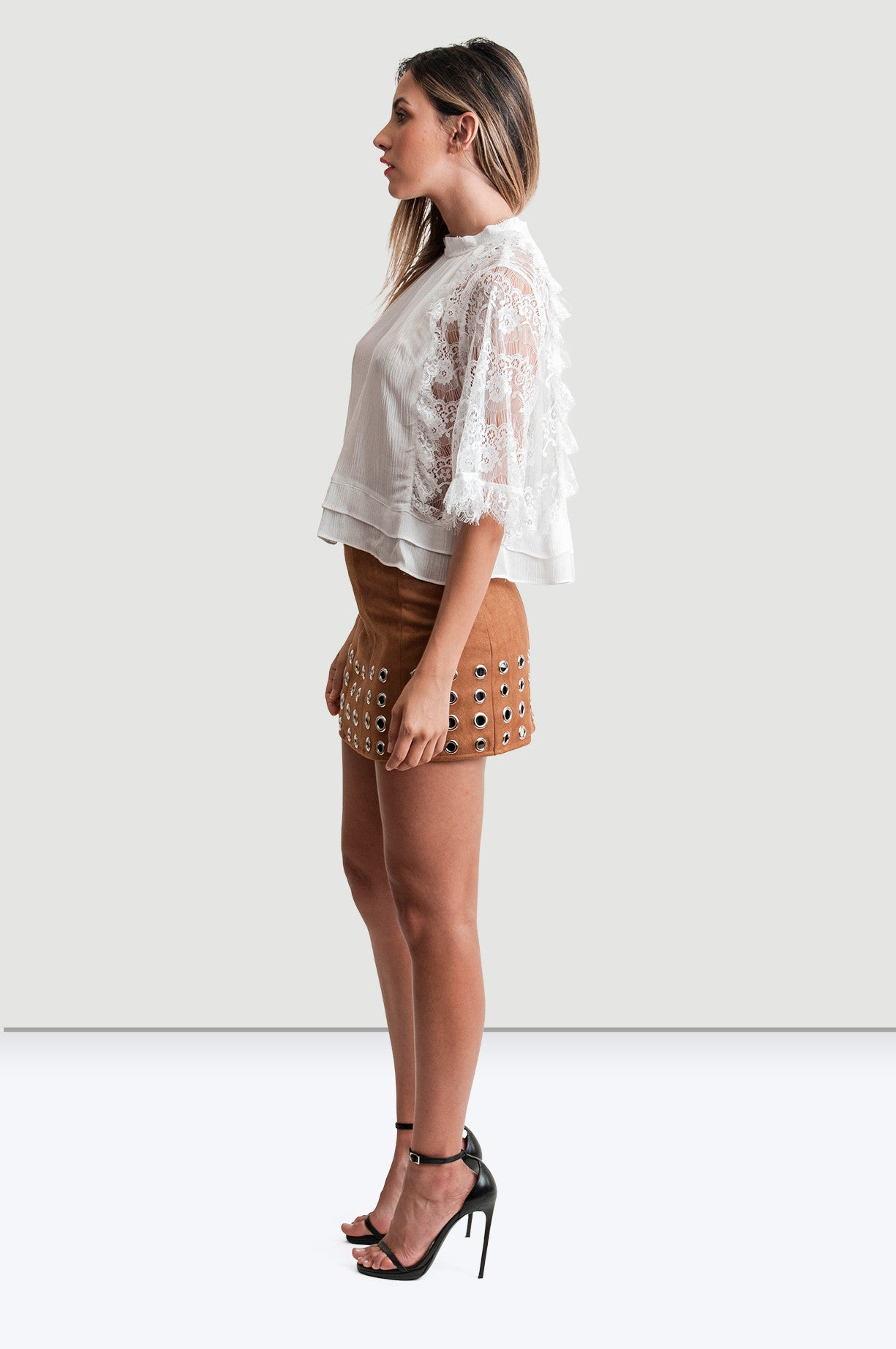 White Exposition Blouse - Jade and Camil