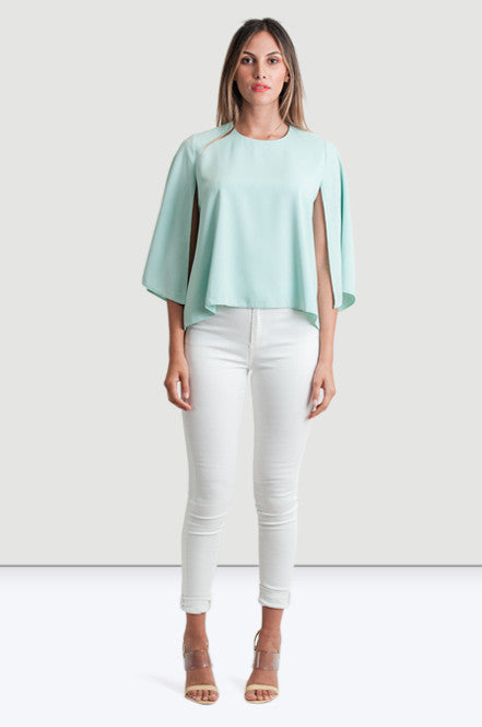 Blue Marine Cape Top - Jade and Camil