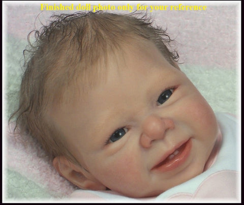Most popular  limited edition reborn doll kit authentic original  kit 22inches reborn supply - tonybz