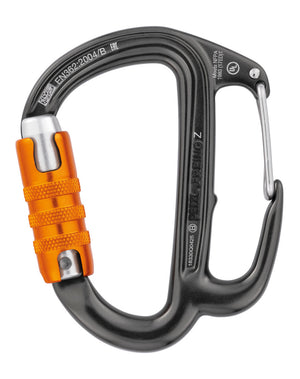 FREINO Z carabiner, with friction spur