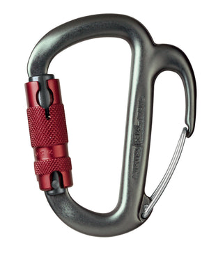 FREINO carabiner, auto-locking with friction spur