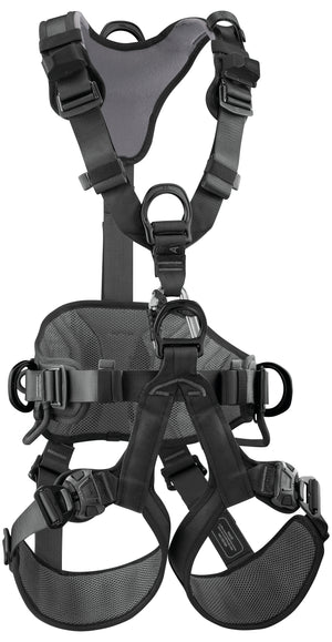 AVAO BOD FAST BLACK full body harness, ANSI, CSA, & NFPA   Petzl