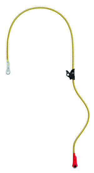 MICROFLIP flipline lanyard for arborists, wire-core, 5.5m