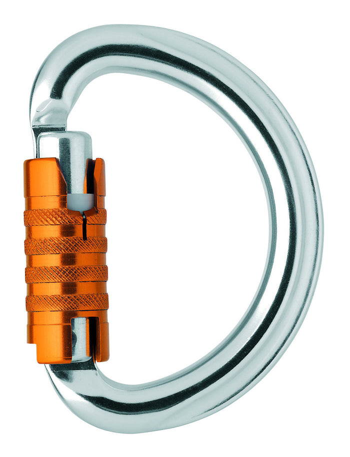 OMNI carabiner, semi-circle, TRIACT-LOCK