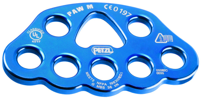 PAW rigging plate, NFPA, Medium