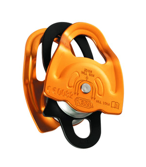 GEMINI double pulley, lightweight, NFPA, 91% efficiency