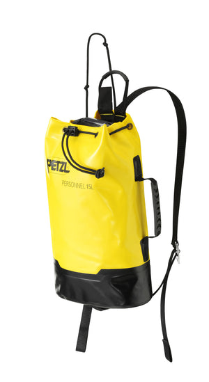 PERSONNEL gear bag, made of TPU (PVC-free), 15L / 915cu in