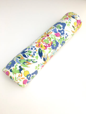Handmade Floral Jersey Knit Newborn Baby Swaddle Blanket - Stylish Little Ones Boutique