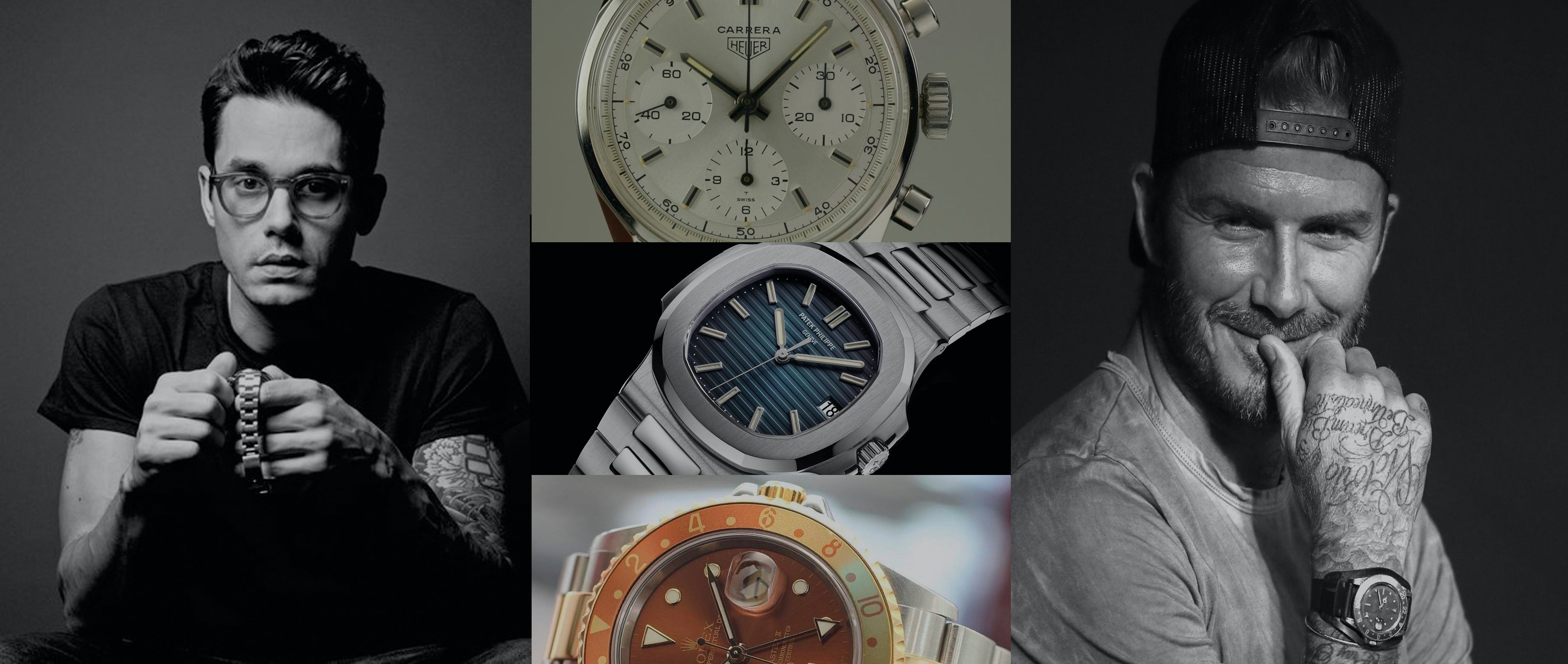 Celebrities and their vintage watch collections who has the best taste ashton blakey for Top celebrity watches