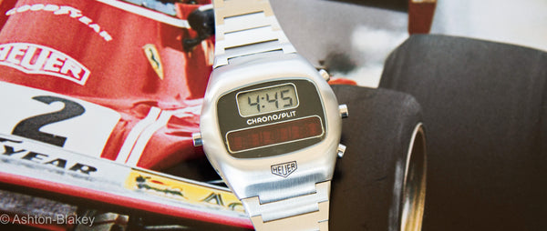 A closer look at the iconic 1975 Heuer Chronosplit LCD/LED (With Video)