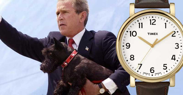 george w bush vintage watch