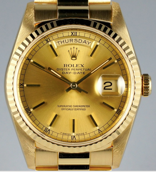 rolex vintage watch day date