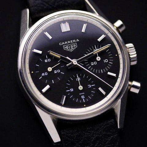 heuer carrera  vintage watch